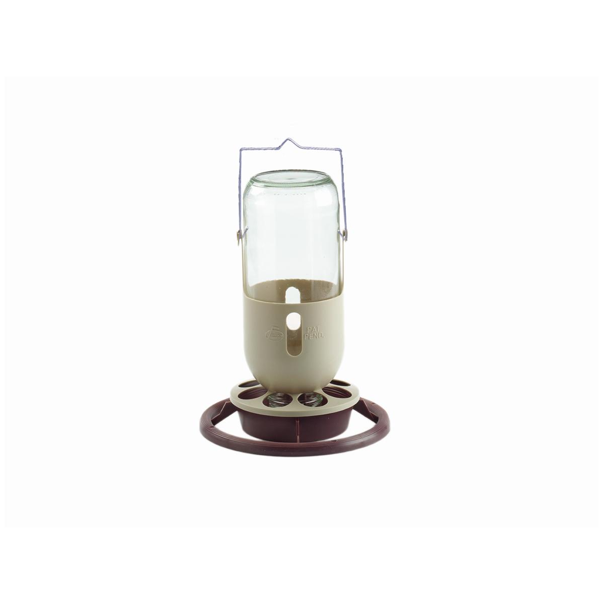 Productafbeelding voor 'Flessenhouder+fles meerkleurig 1000 ml'