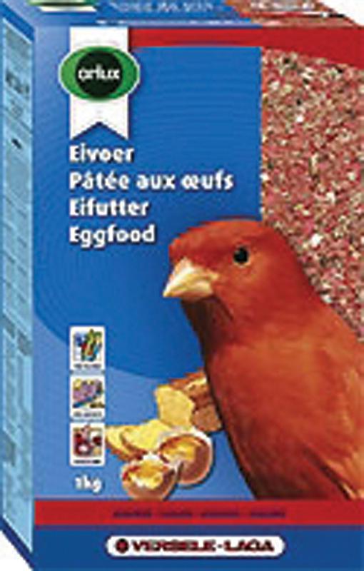 ORLUX EIVOER KANARIE ROOD 1KG 00001
