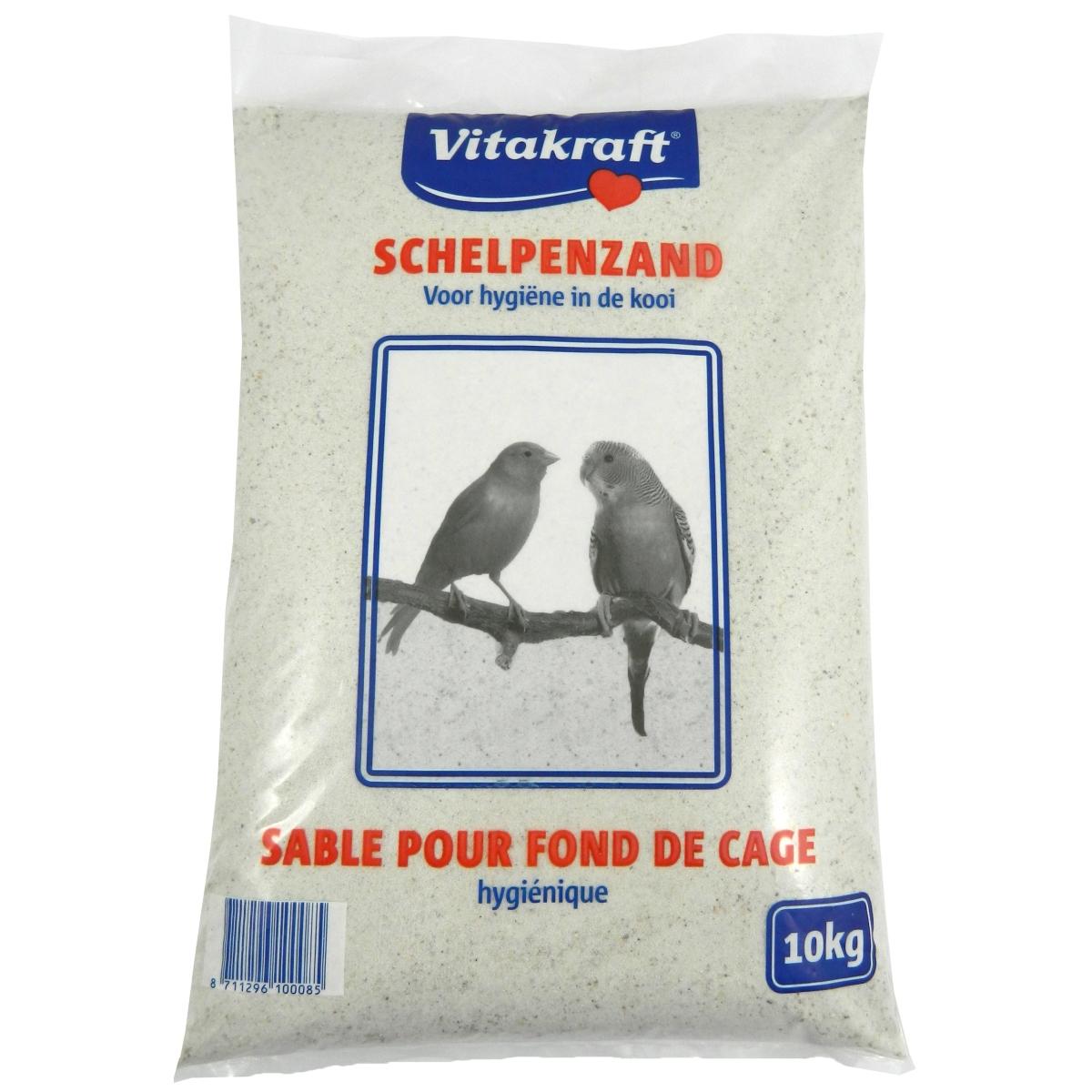 Productafbeelding voor 'Schelpenzand wit 10 kg'