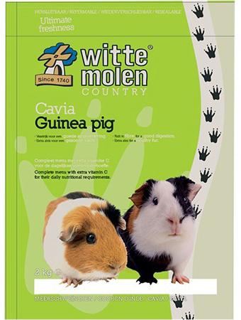 Witte molen - country cavia meerkleurig 2 kg