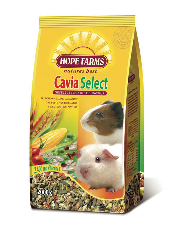 Hope farms - cavia select meerkleurig 800 gr