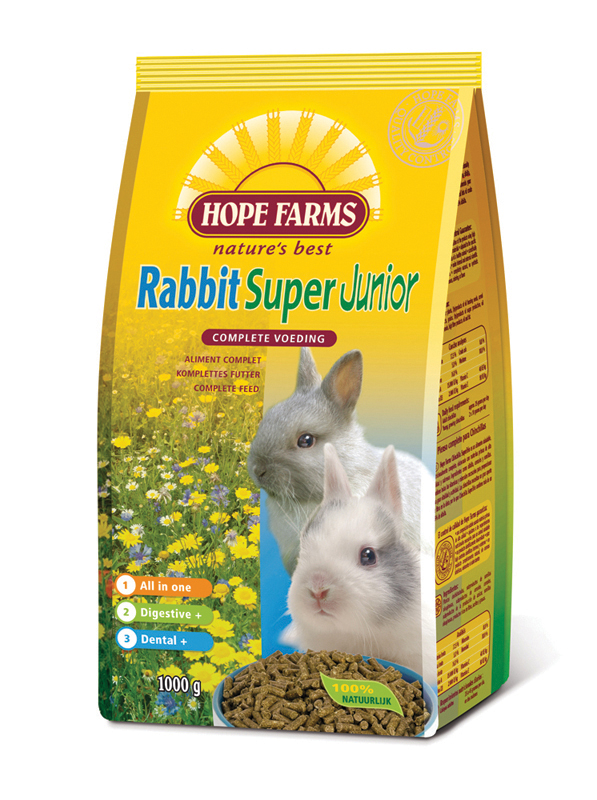 Rabbit super junior meerkleurig 1 kg