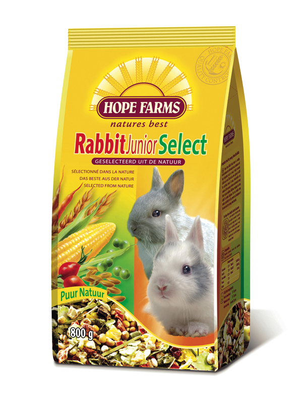 Rabbit junior select meerkleurig 800 gr