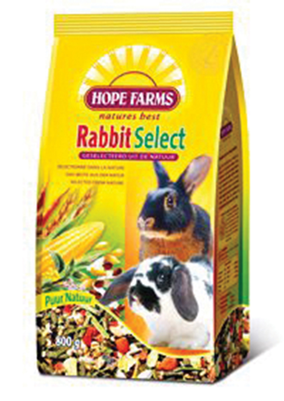Hope farms - rabbit select meerkleurig 800 gr