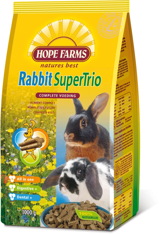 HF RABBIT SUPERTRIO 1KG 00001