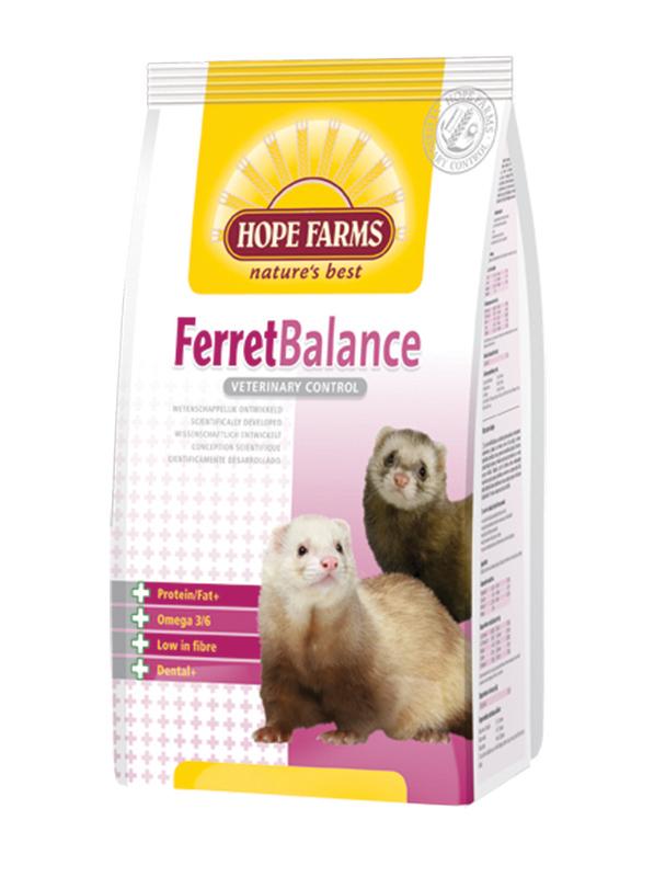 Ferret balance meerkleurig 1,5 kg