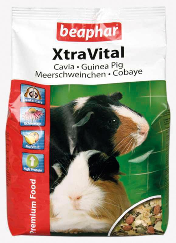 Beaphar - xtra vital cavia meerkleurig 2,5 kg
