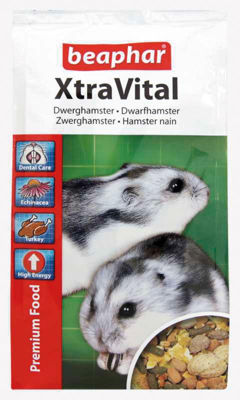 Xtra vital dwerghamster meerkleurig 500 gr