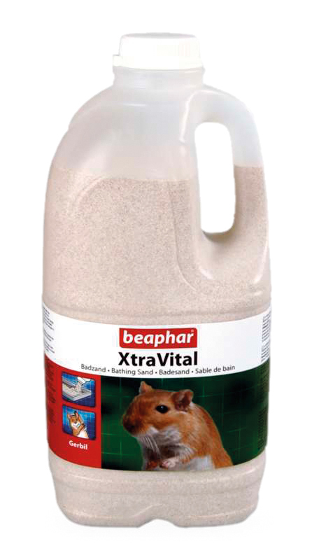 Xtra vital - gerbil badzand wit 2 ltr