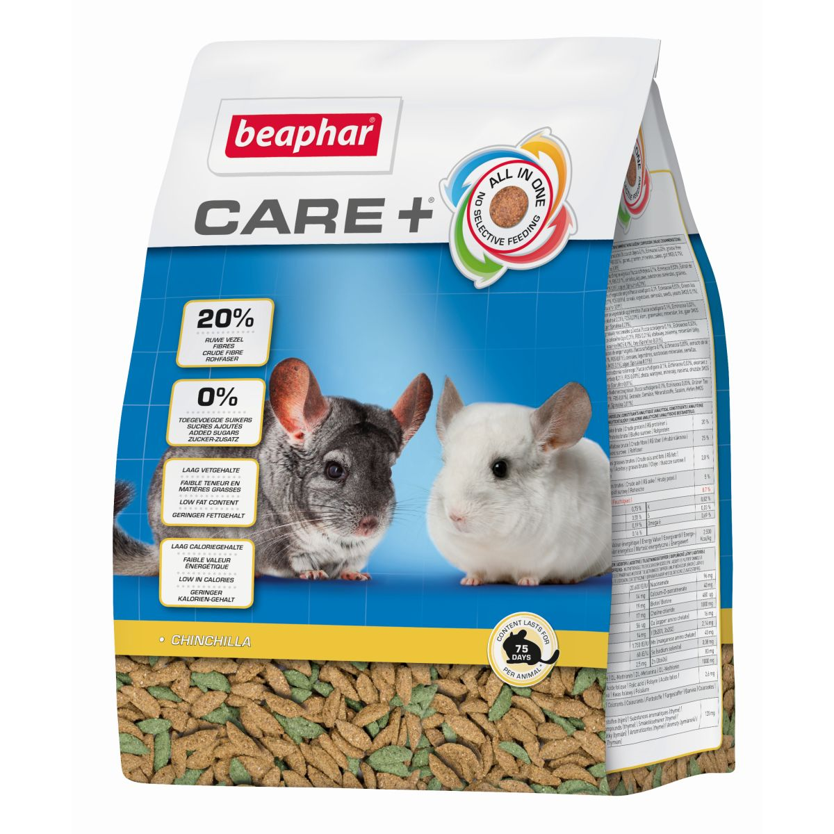 BEA CARE+ CHINCHILLA 250GR 00001