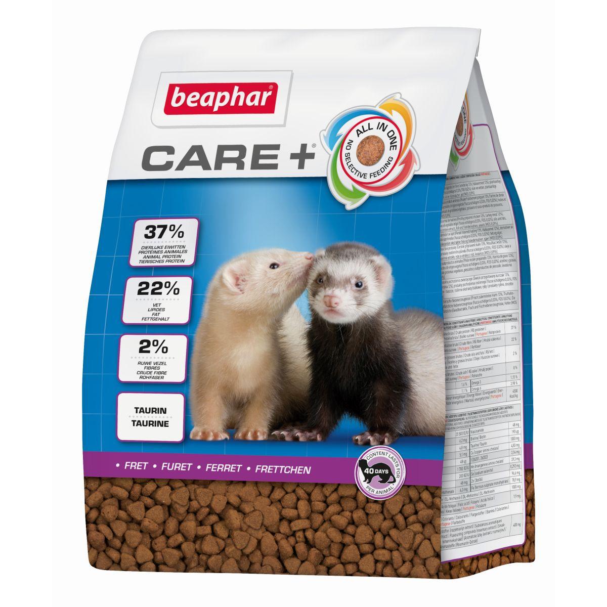 Beaphar - care+ fret meerkleurig 2 kg
