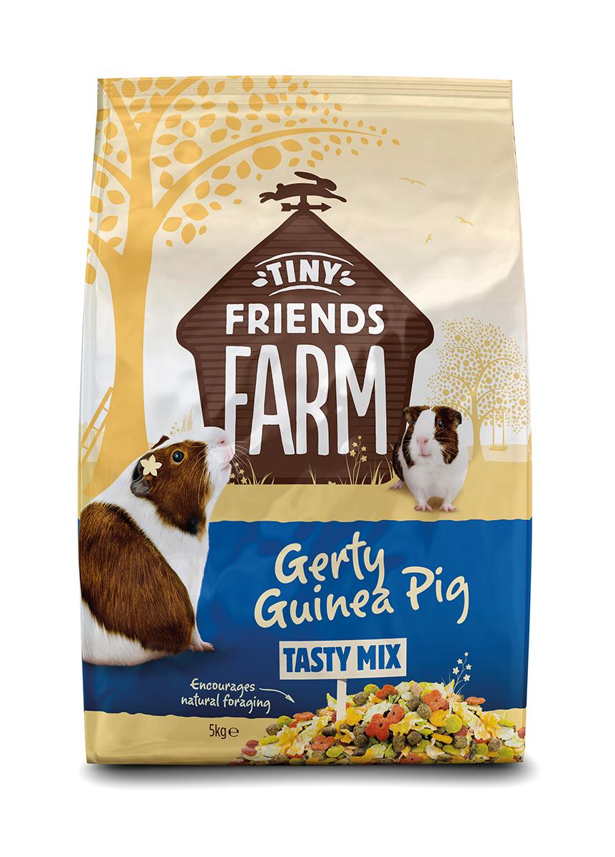 Tiny friends farm - gerty guinea pig meerkleurig 5 kg