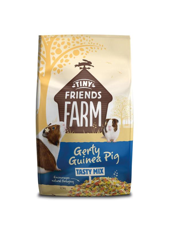 Tiny friends farm - gerty guinea pig meerkleurig 12,5 kg