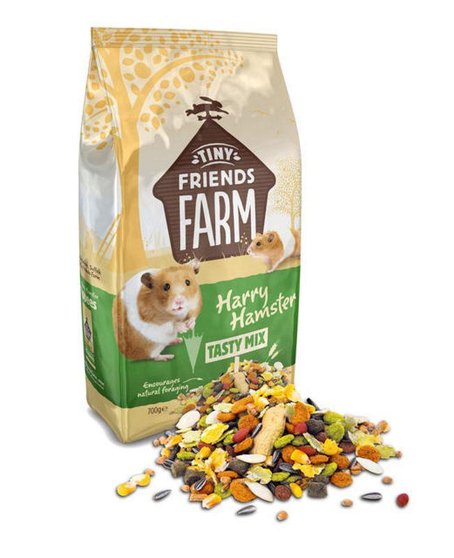 Harry hamster meerkleurig 700 gr