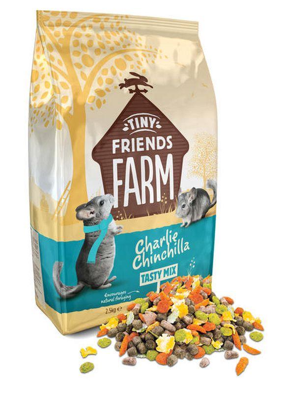 Charlie chinchilla meerkleurig 850 gr