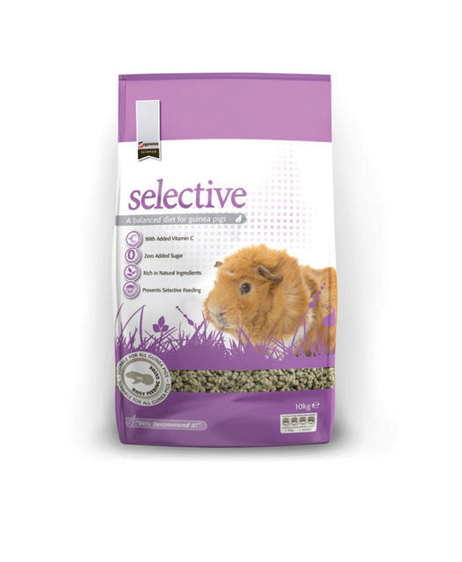 Supreme - selective guinea pig meerkleurig 10 kg