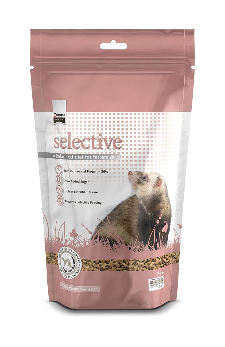 Selective ferret meerkleurig 350 gr