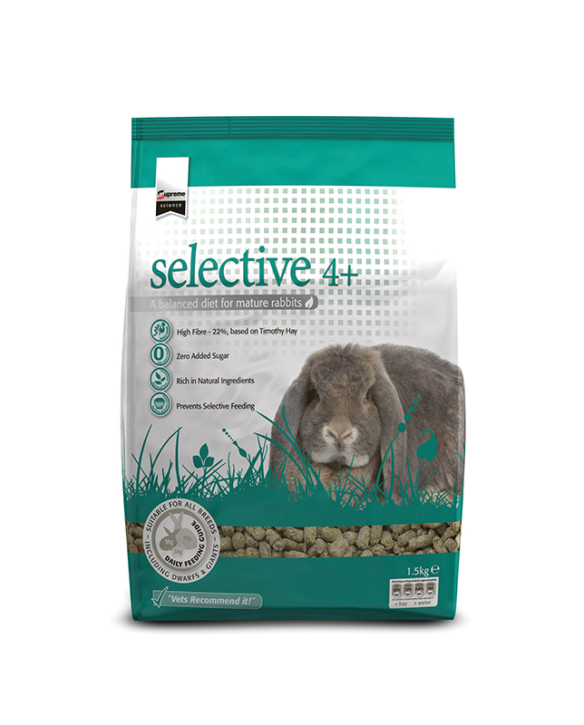 Supreme - selective rabbit mature meerkleurig 10 kg