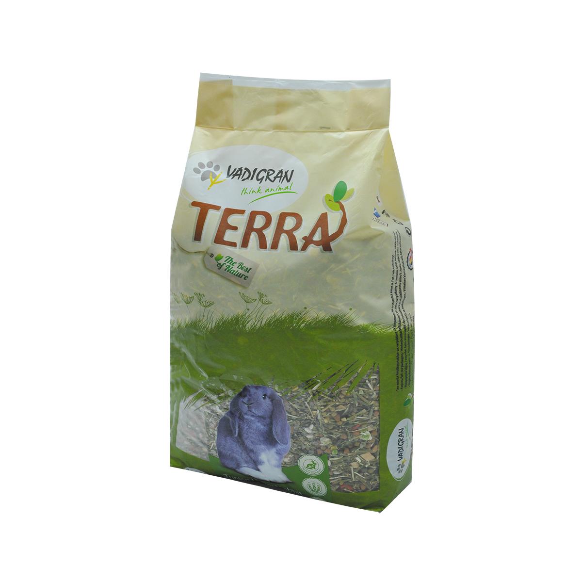 Productafbeelding voor 'Terra - dwergkonijn en junior meerkleurig 7 kg'