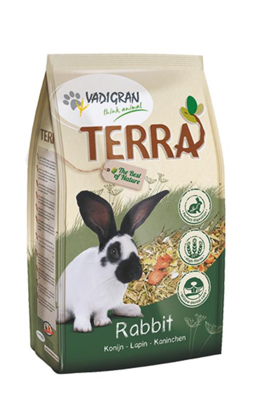Productafbeelding voor 'Terra - konijn meerkleurig 1 kg'