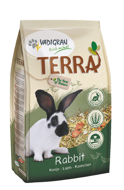 Productafbeelding voor 'Terra - konijn meerkleurig 2,25 kg'