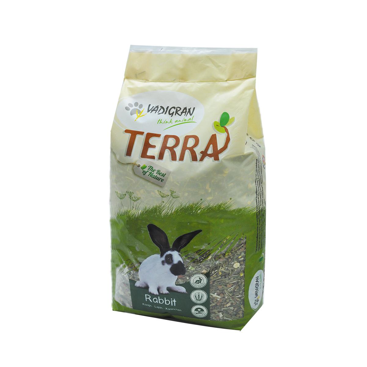 Productafbeelding voor 'Terra - konijn meerkleurig 7 kg'