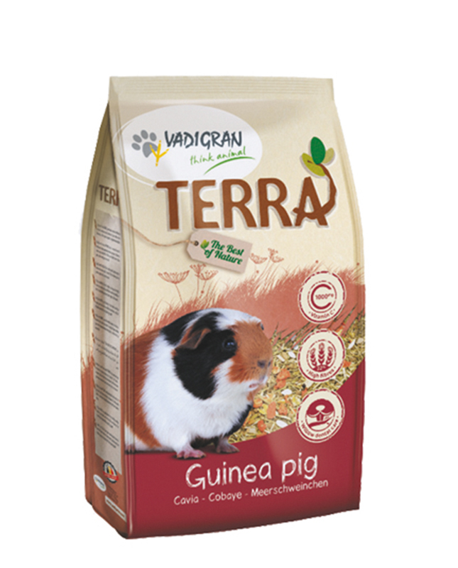 Productafbeelding voor 'Terra - cavia meerkleurig 1 kg'
