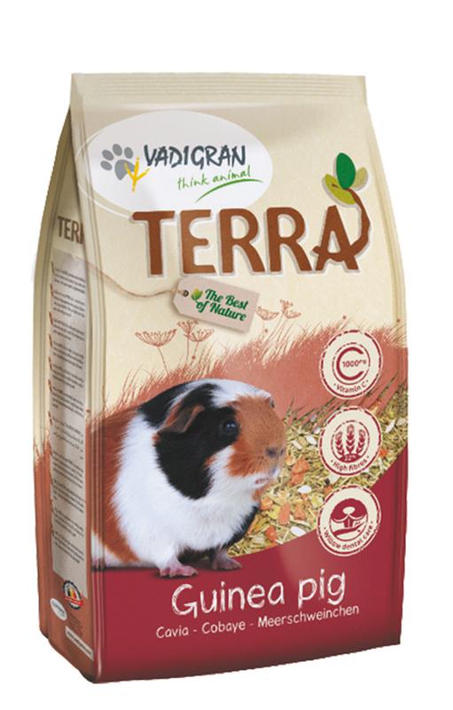 Productafbeelding voor 'Terra - cavia meerkleurig 2,25 kg'