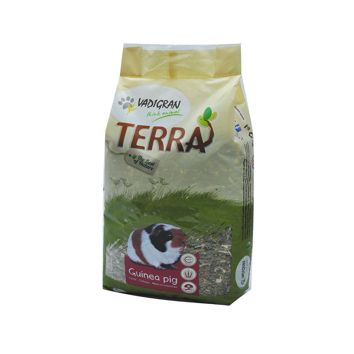Productafbeelding voor 'Terra - cavia meerkleurig 7 kg'
