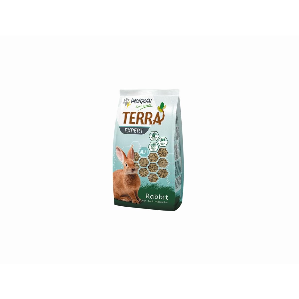 Productafbeelding voor 'Terra - expert timotee konijn meerkleurig 375 gr'