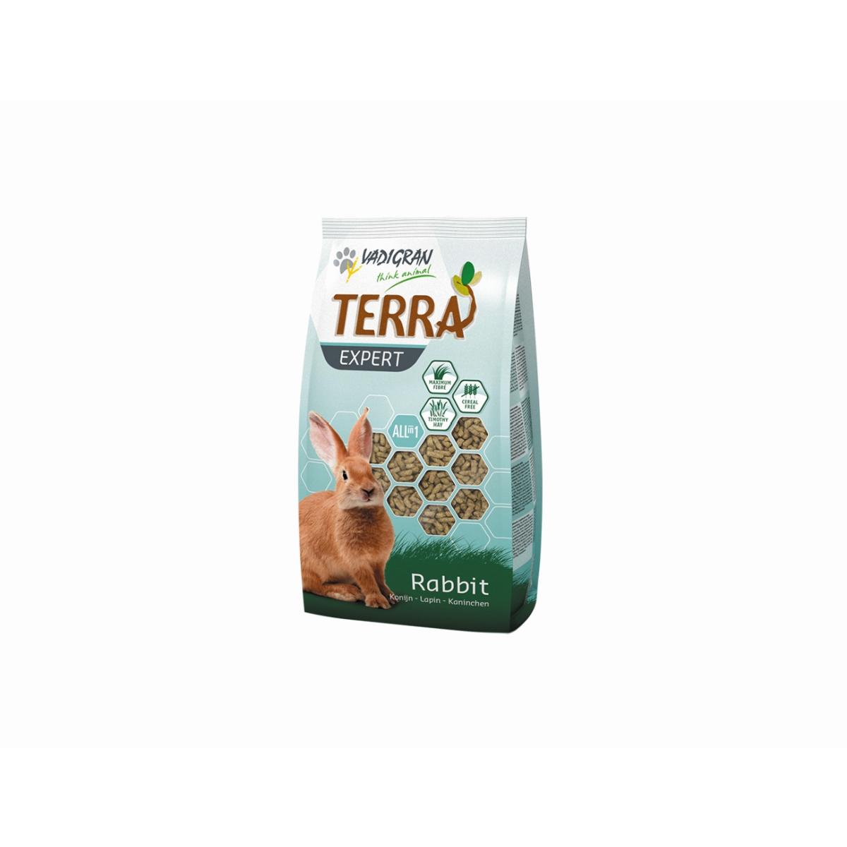 Productafbeelding voor 'Terra - expert tiomtee konijn meerkleurig 900 gr'