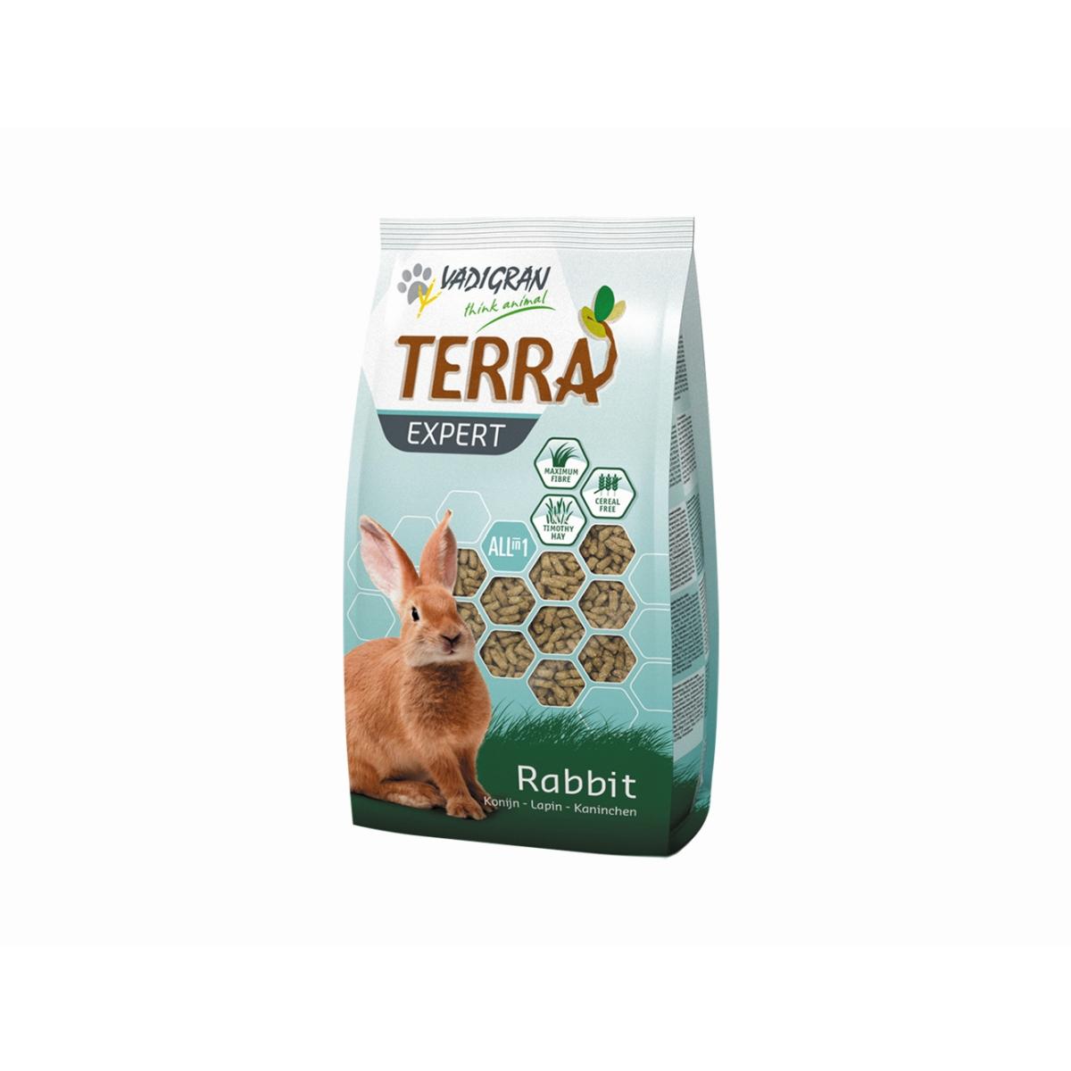 Productafbeelding voor 'Terra - expert tiomtee konijn meerkleurig 2 kg'