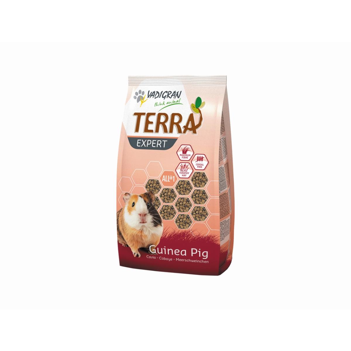 Productafbeelding voor 'Terra - expert tiomtee cavia meerkleurig 900 gr'