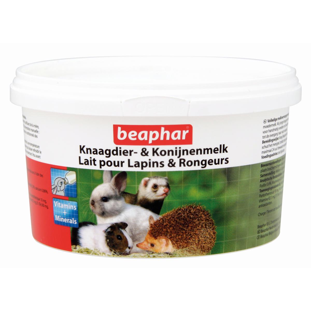 BEA KNAAGDIER&KONIJNENMELK200G 00002
