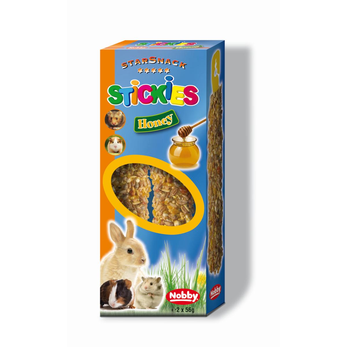 Nobby - stickies meerkleurig 2 x 56 gr
