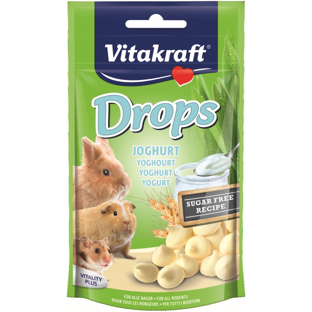 Vitakraft - drops knaagdier en konijn meerkleurig 75 gr