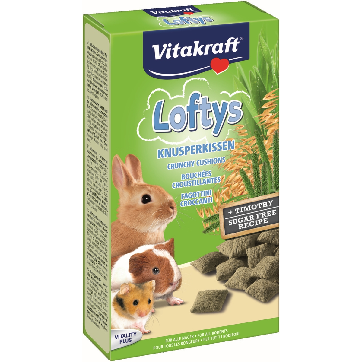 Productafbeelding voor 'Loftys knaagdier en konijn meerkleurig 100 gr'