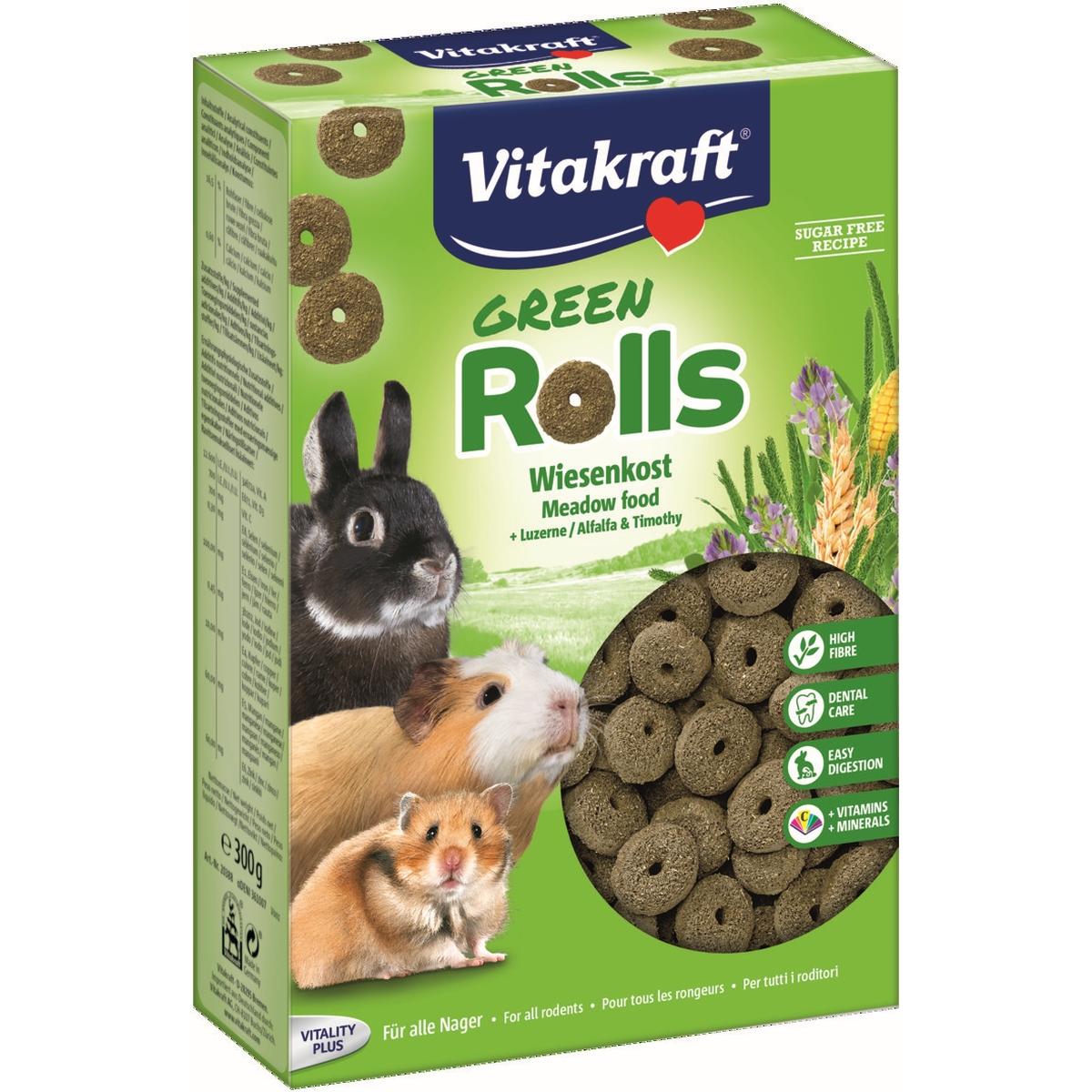 Productafbeelding voor 'Groen rollies meerkleurig 300 gr'