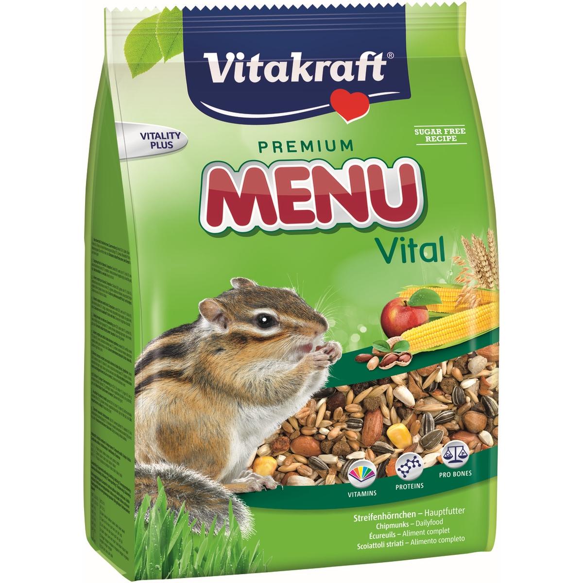 Productafbeelding voor 'Menu vital eekhoorn meerkleurig 600 gr'