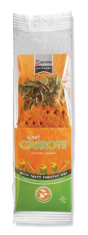 Giant carrot snack 3 pack 3 x 75 gr