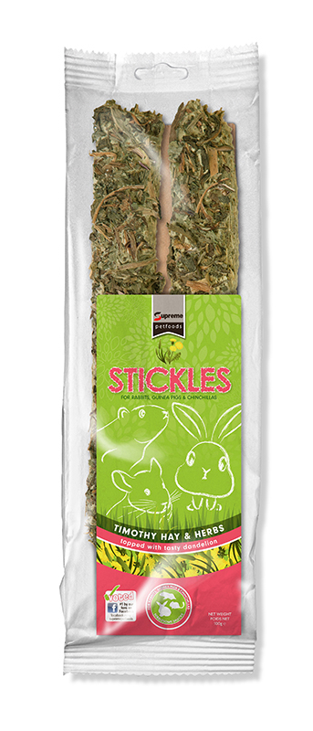 TFF TIM.HAY&HERB STICKLE 100GR 00001