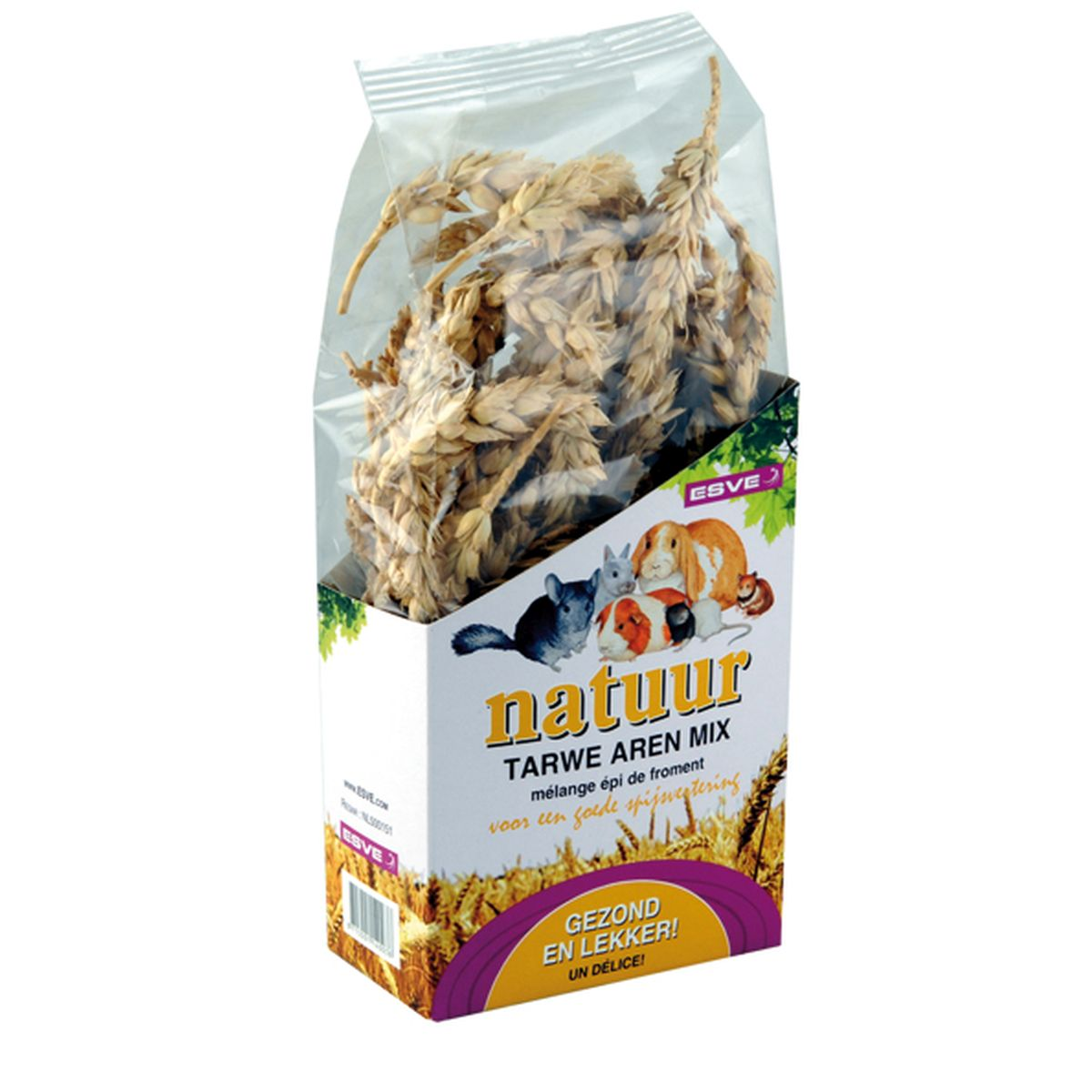 Esve - natuur tarwe aren mix meerkleurig 90 gram
