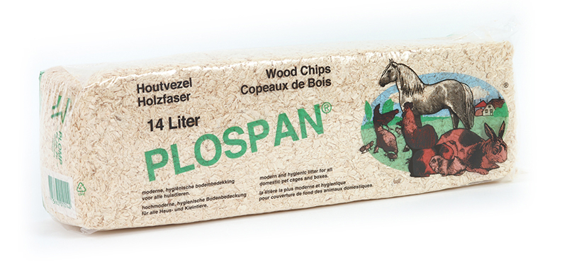 Plospan - houtvezel 14 ltr