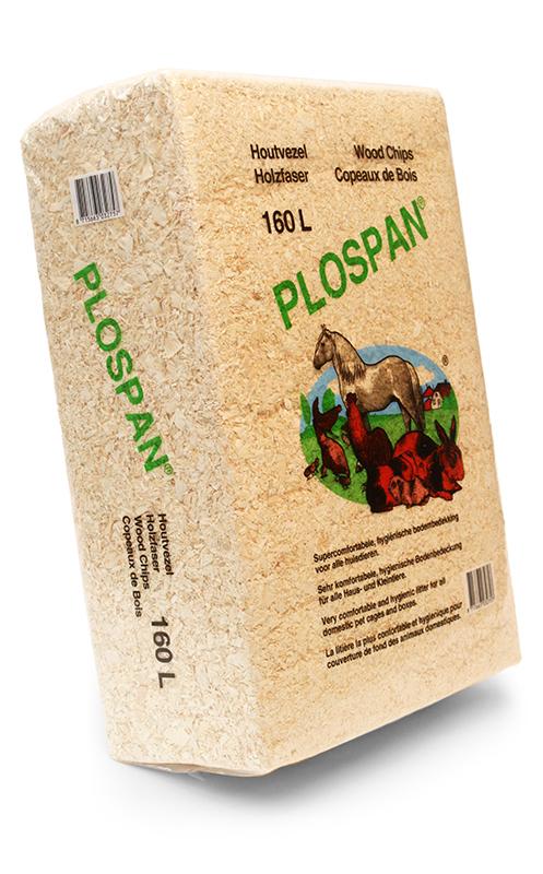Productafbeelding voor 'Plospan - houtvezel bruin 160 ltr'