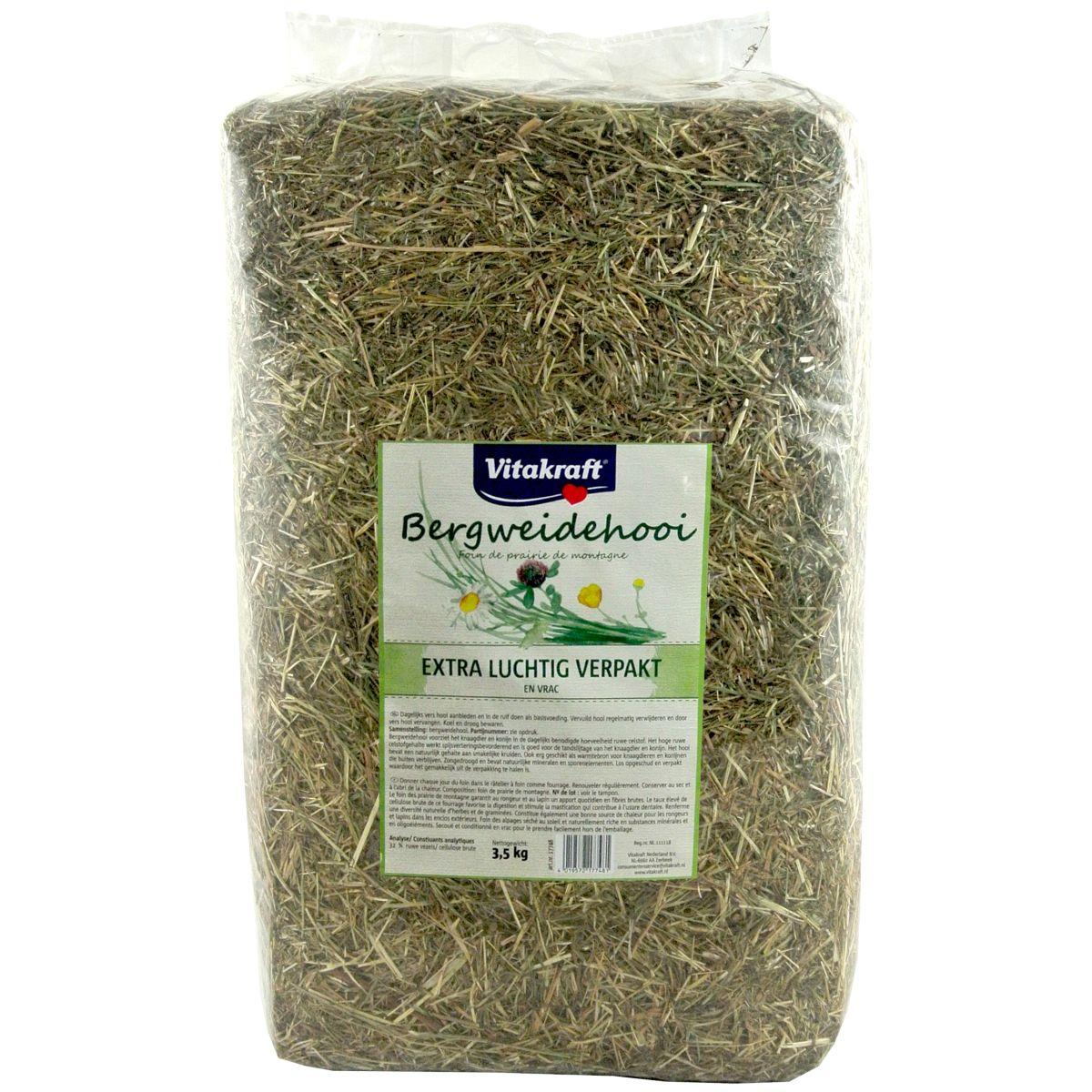 Productafbeelding voor 'Natuurgoed bergweidehooi groen 3,5 kg'