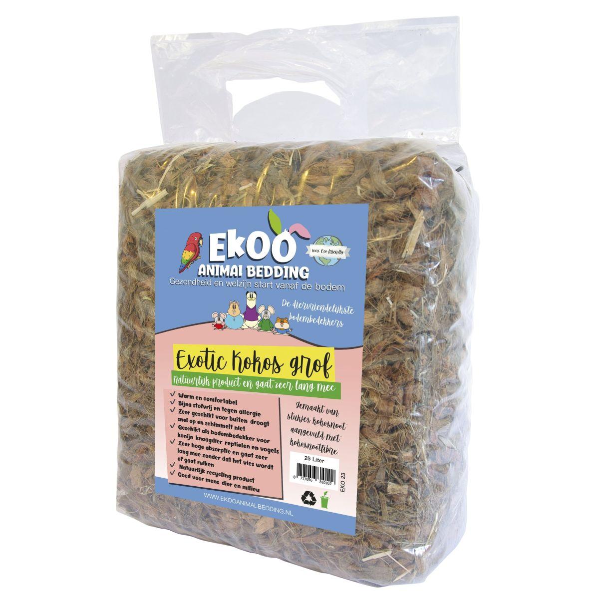 Exotic kokos grof 25 ltr