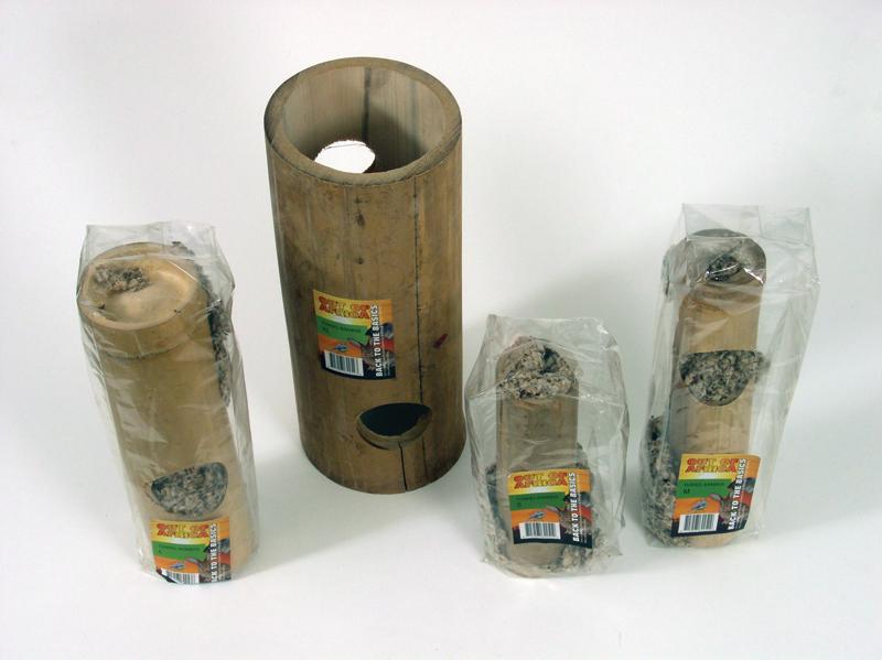 Tunnel bamboe bruin