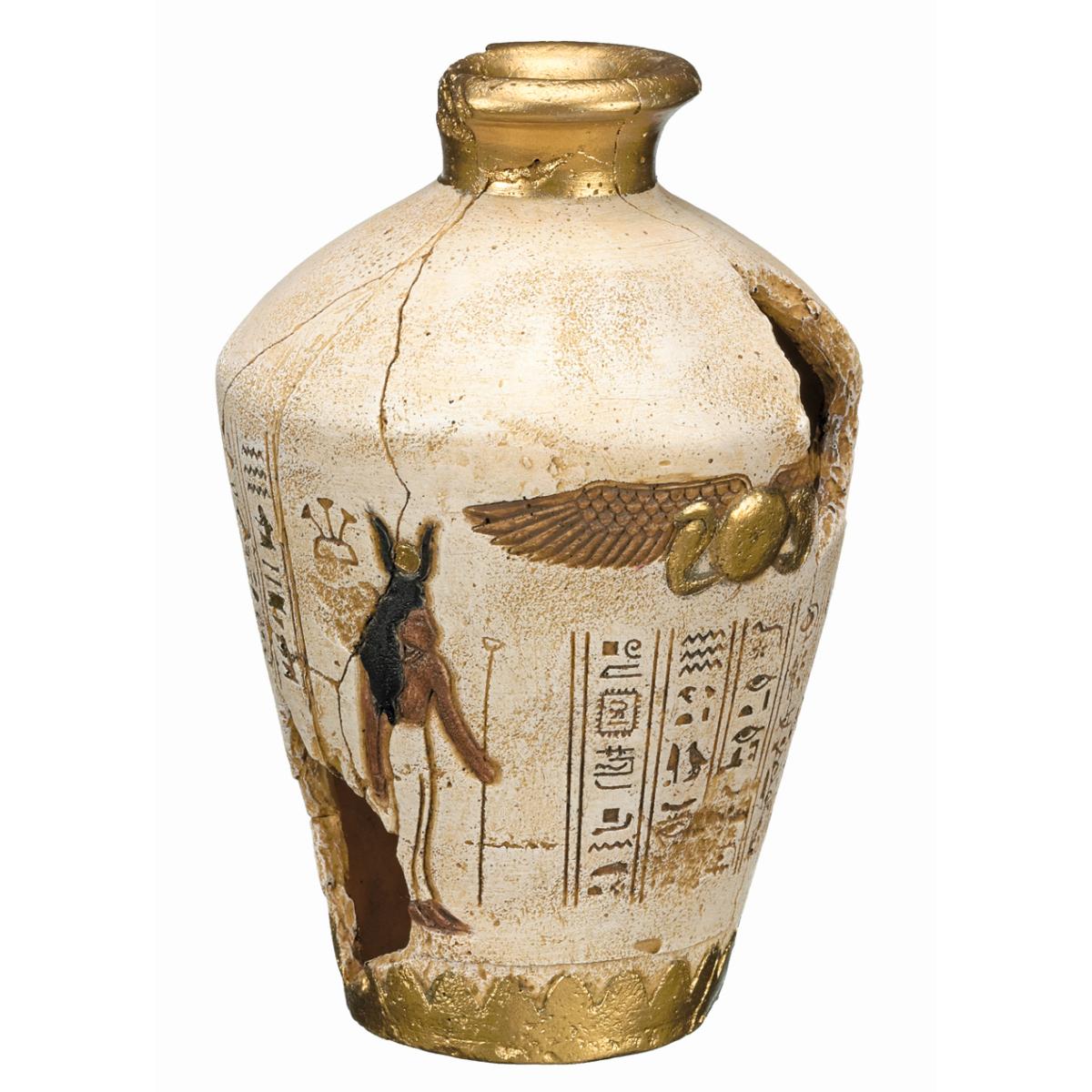 NB EGYPTIAN JAR 120X120X175MM 00001