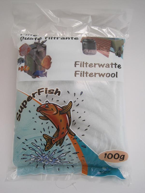 Superfish - filterwatten wit 100 gr