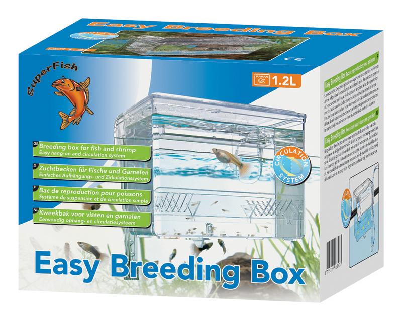 Easy breeding box transparant